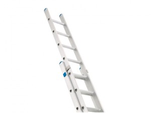 Industrial Extension Ladder 2-Part D Rungs 2 x 8
