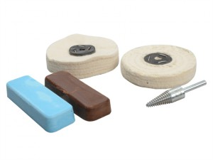 Polishing Kit Non Ferrous Metal - Brown & Blue