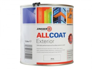 ALLCOAT® Exterior White Primer / Finish 1 Litre
