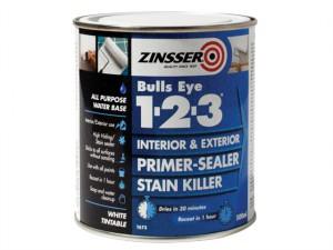 123 Bulls Eye Primer & Sealer Paint 500ml