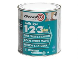 123 Bulls Eye Plus Primer & Sealer Paint 1 Litre