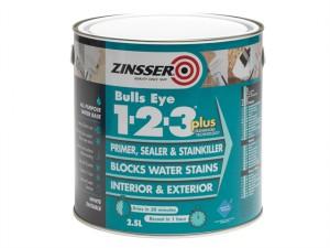123 Bulls Eye Plus Primer & Sealer Paint 2.5 Litre
