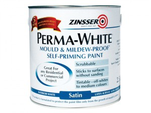 Perma-White Interior Paint Satin 2.5 Litre