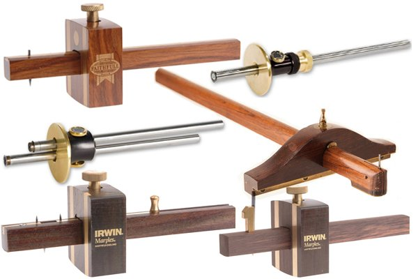 Marking gauge, panel gauge, cutting gauge, wheel gauge and mortise gauge