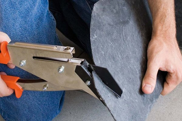 Slate cutter and punch