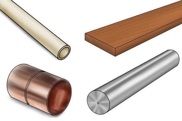 Aluminium, plastic, nylon, copper, brass and wood can all be deburred using these tools.