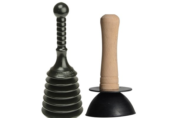Cup and concertina plungers, perform the same task, it is just personal preference which you choose