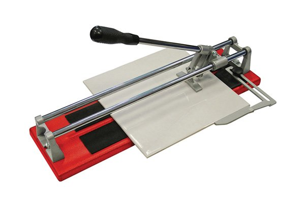 Tile cutters will give a better quality finsh to the edge of a cut tile than using concretors nipper or pliers will.