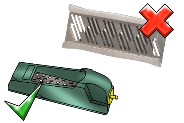 how to use a drywall rasp