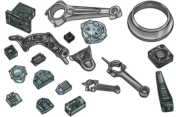 Die casting can be used to make a wide range of parts with many different shapes, the accuracy of hand drill drive gears produced by die casting reduces the need for subsequent machining work