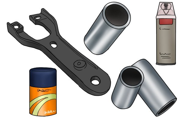 The surface finishes that can be applied to hand drills and braces include chrome plating, black Japanning and paints