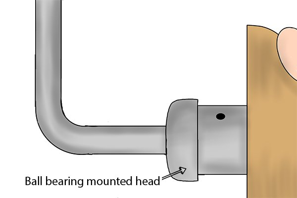 Braces with ball bearing mounted heads will turn smoother and be easier to operate