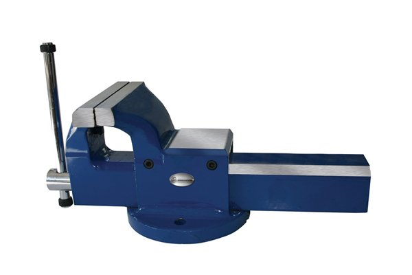 A vice is a useful too for holding a workpiece freeing up your hands to operate a hand drill