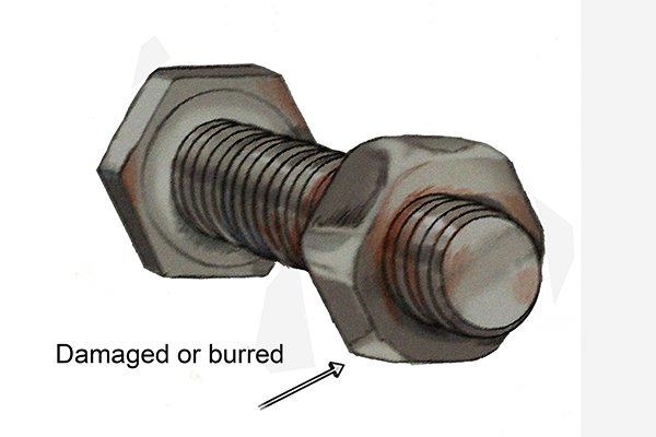 Once other methods of removing a damaged nut have failed using a nut splitter can be the final solution.