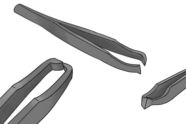 Tweezer action sprue cutters operate differently to other sprue cutters.
