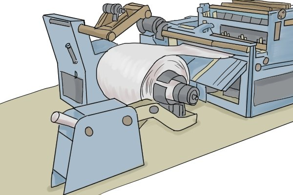 Blanking machines cut sheet metal with a punch and die to form the outline shape of the part required.