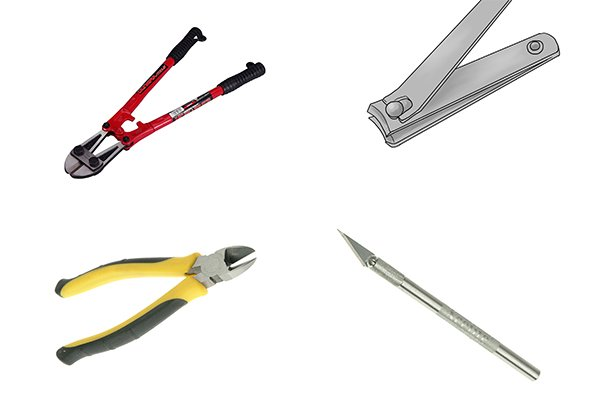 Some of the alternative tools that could be used instead of a sprue cutter include; craft knives, nail clippers, side cutters and bolt cutters