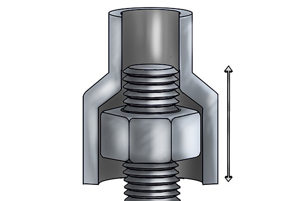 The bolt clearance depth is how deep into the female recess of the socket the shaft of a bolt can travel