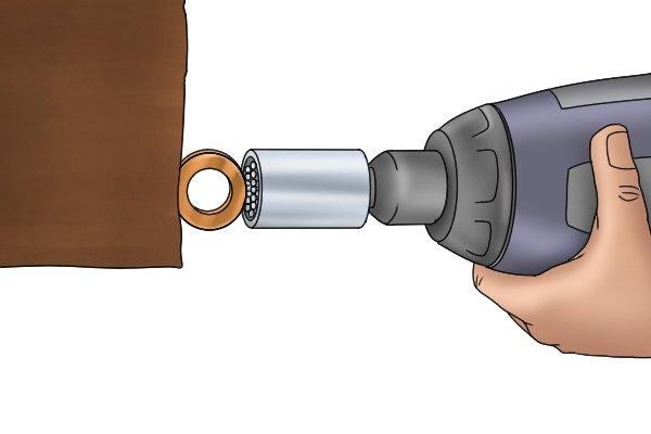Universal sockets can be used to turn many fastener head shapes including hooks and eyelets.