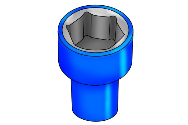 Insulated socket for use around high voltage electrics