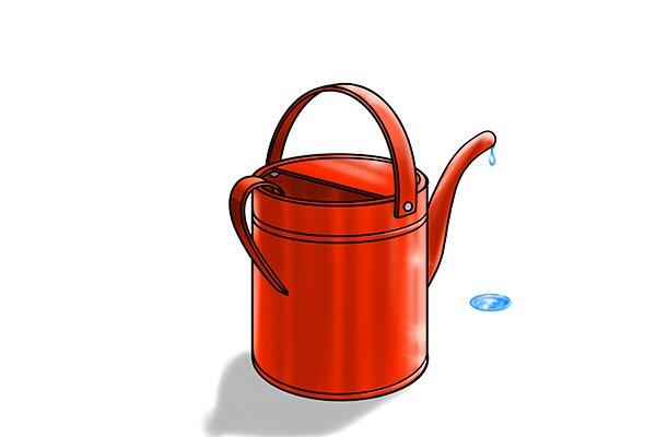 Watering can watering
