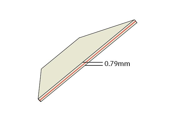 Paper thickness 0.79mm