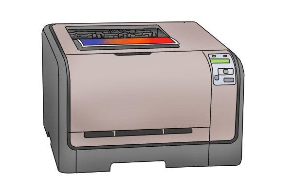 Comprehensive image inside laser printable magnetic sheets