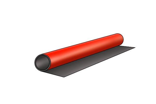 Laminated flexible magnetic sheet