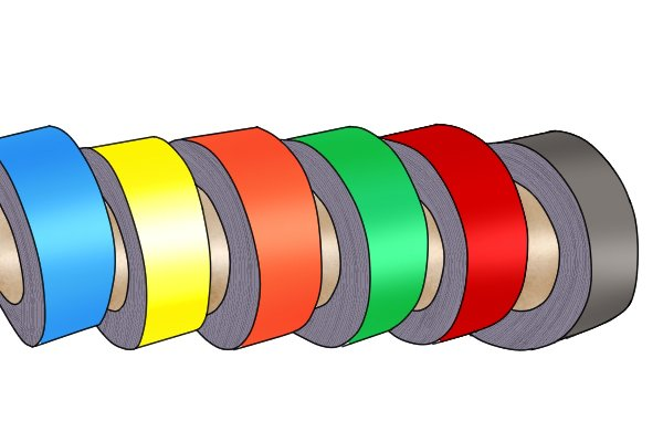 Laminated flexible magnetic tape