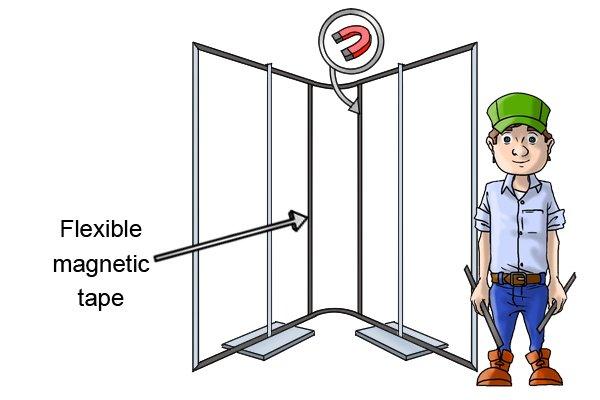Seam-free flexible magnetic tape