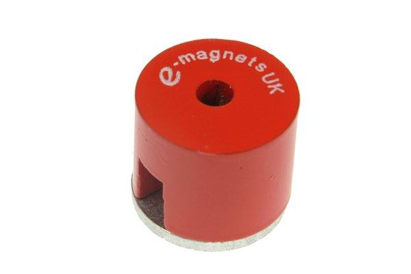 Alnico button horseshoe magnet