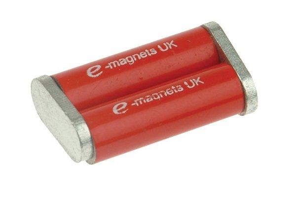 Unmarked cylinder bar magnet