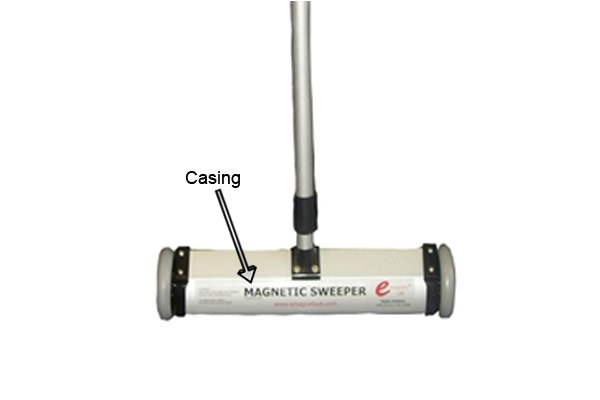 standard push magnetic sweeper casing