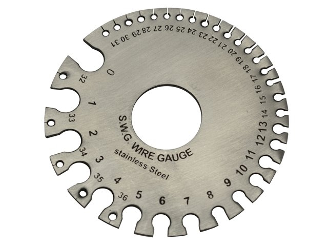 What is a wire gauge used for?