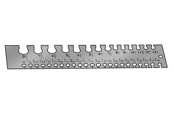 What are the parts of a wire gauge metric measurements on a rectangular wire gauge greentooth Choice Image