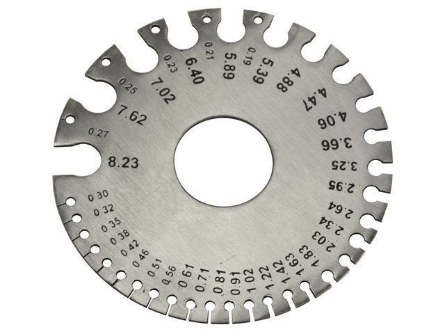 How does a wire gauge work metric wire gauge greentooth Image collections