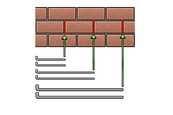choosing a bolt to use on brick wall