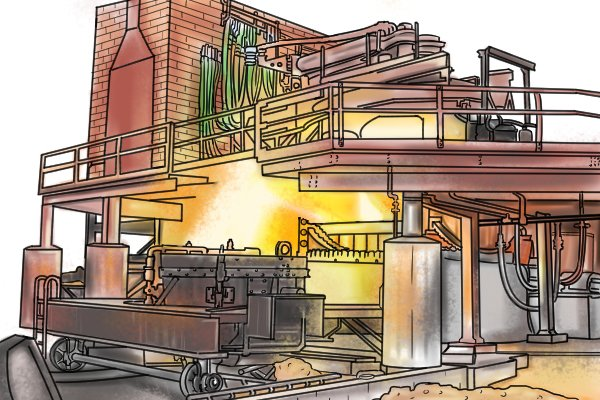 Galvanising steel