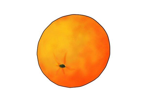Orange peeled texture