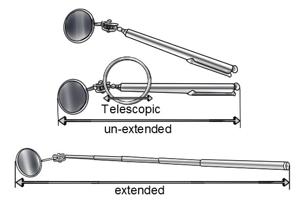 What Are Telescopic Inspection Mirrors