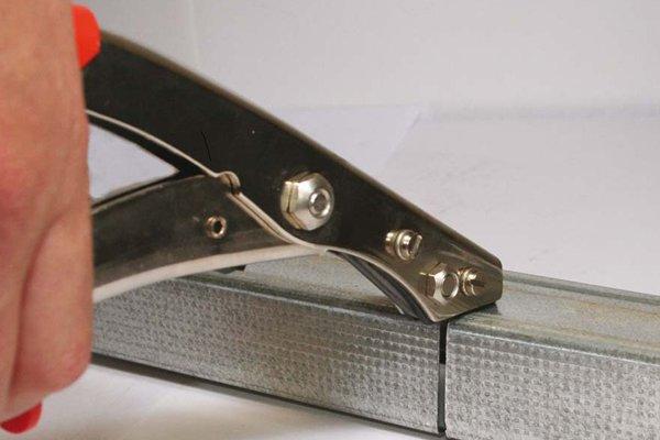 how to cut through sheet metal