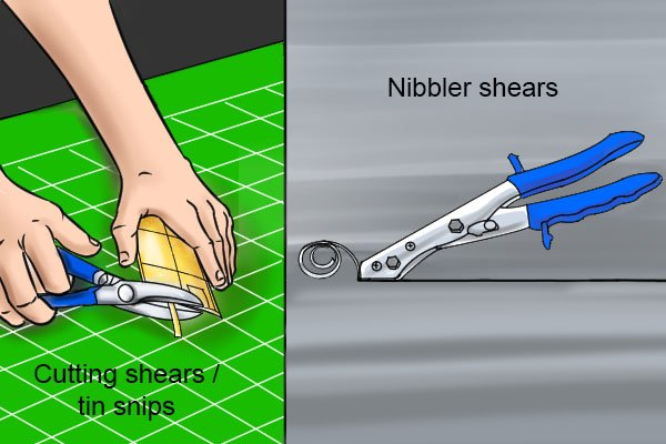 how to use a nibbler