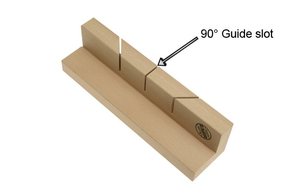 Wonkee Donkee The 90° saw guide slots enable you to make precise 90° cuts to your skirting boards, coving, or plastic pipes