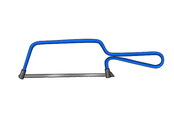 Wonkee Donkee A Hacksaw is the ideal saw to use when cutting tiling trim