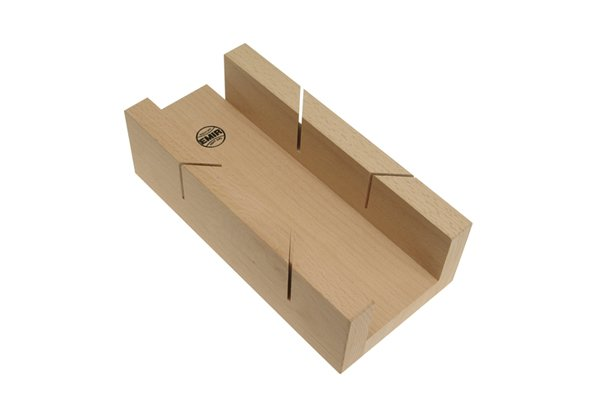 Wonkee Donkee Beechwood Mitre Box is a quality mitre box for cutting 45° and 90° mitred joints