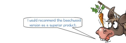 Wonkee Donkee Recommends a beechwood mitre box or block as superior to a laminate wood variety