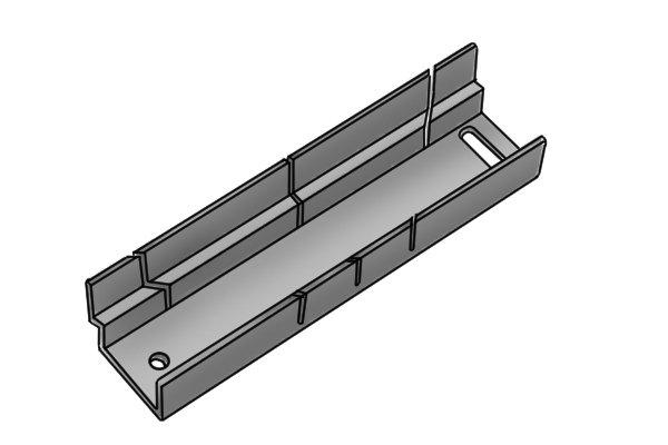 Wonkee Donkee Zinc coated steel mitre box