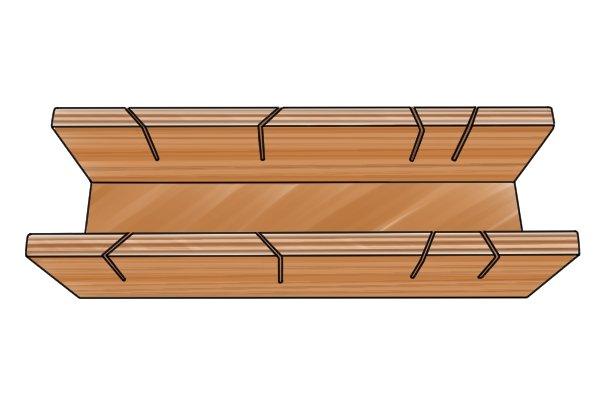 Wonkee Donkee Cheap Plywood Mitre Box