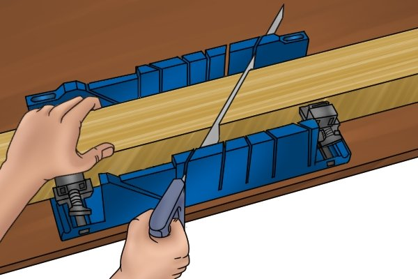 Wonkee Donkee Keep the saw from drifting out of the saw guides to ensure a neat and precise cut