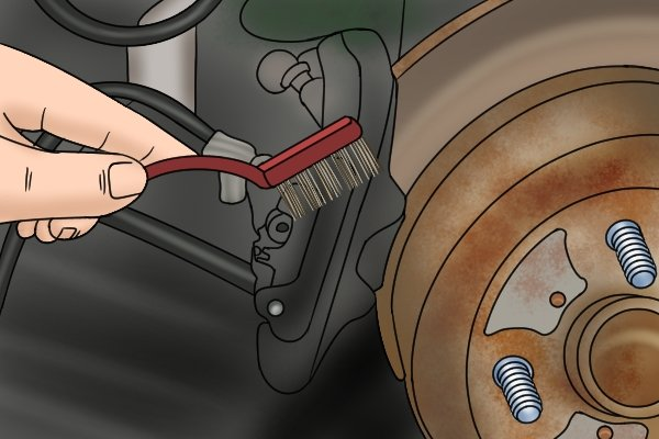 how to clean your brake calipers